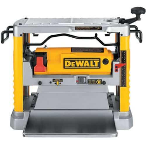 DEWALT DW734 Wood Planer Review