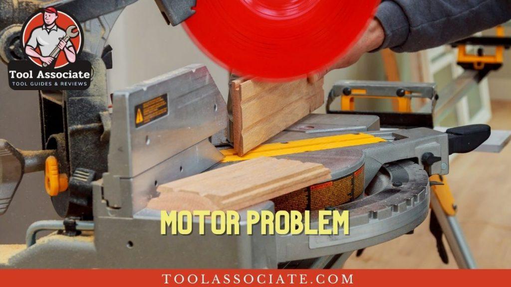circular saw motor problems