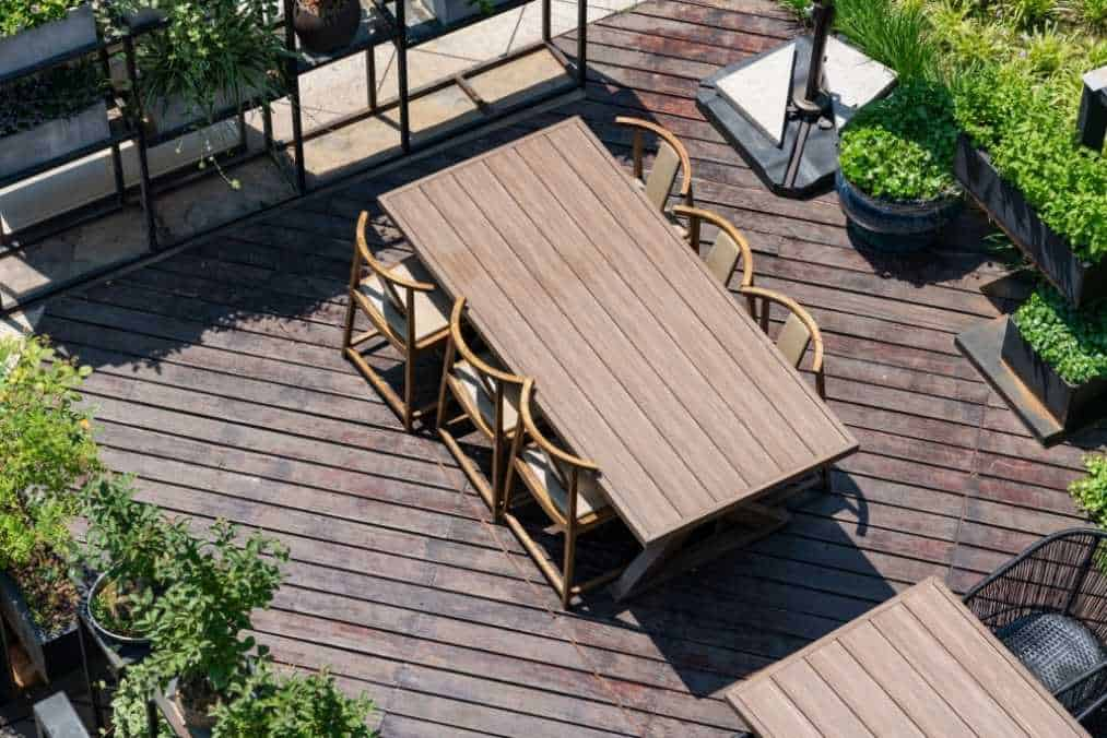 how to install deck board