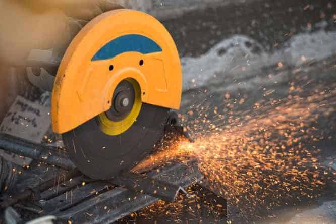 Using a Metal Cutting Disc on Concrete