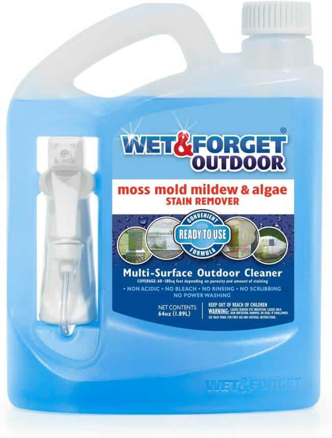 wet & forget roof cleaner