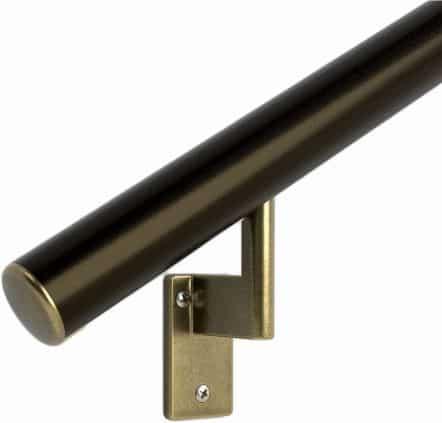 Round Handrail Aluminum Railing