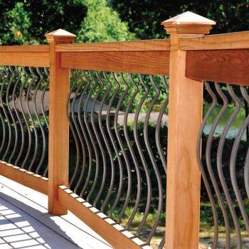 Silhouette Baluster Deck Railing