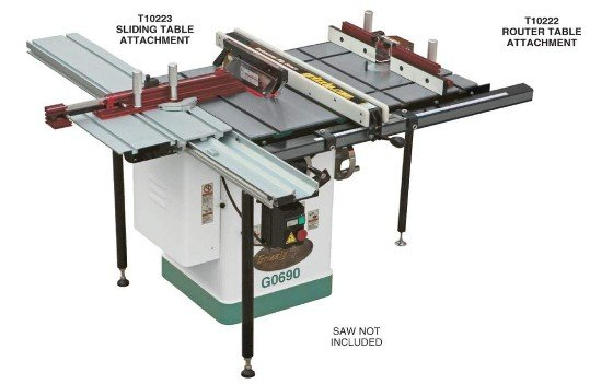 best sliding table saw attachment