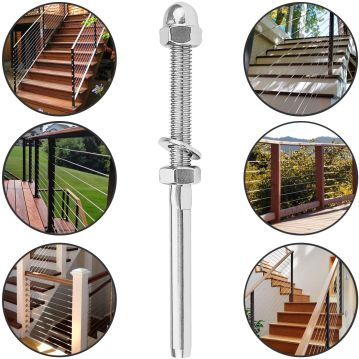 60 Threaded Deck Railing